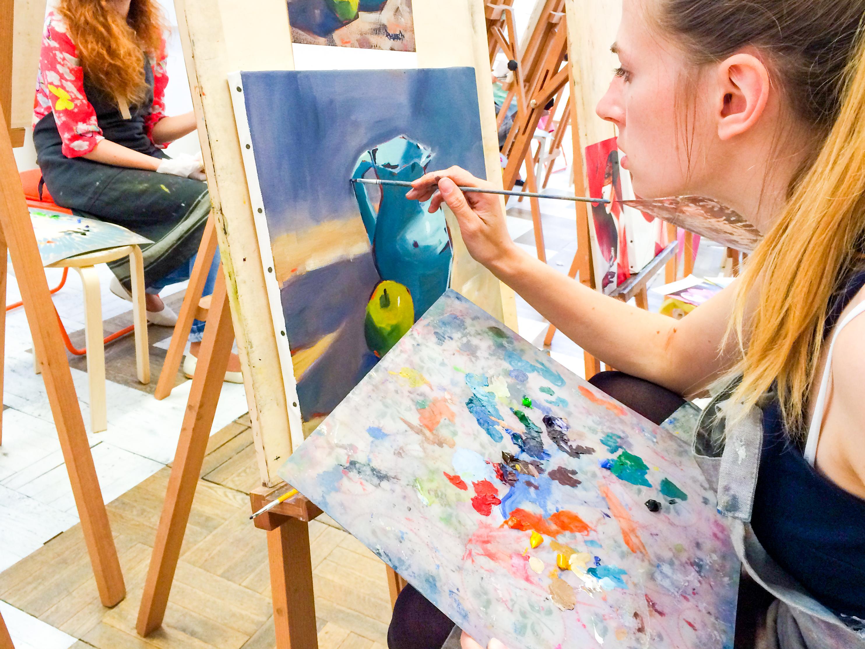 Художники учат рисовать
