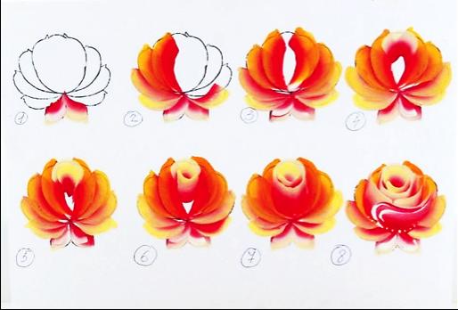 Мастер-классы рисуем цветы